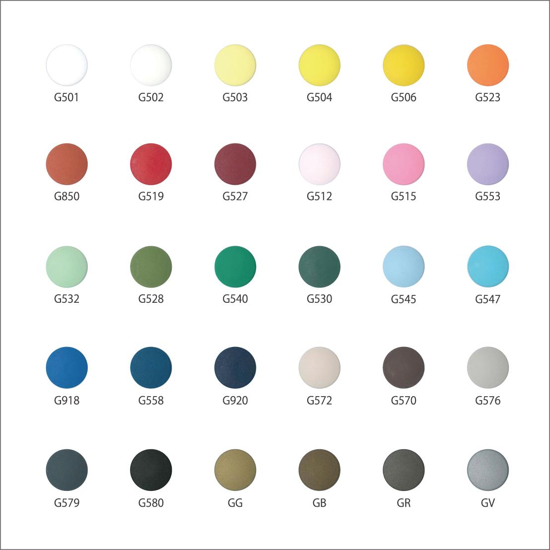 SG カラーバリエーション |「プロ仕様」の手芸用品 - CHERRY LABEL