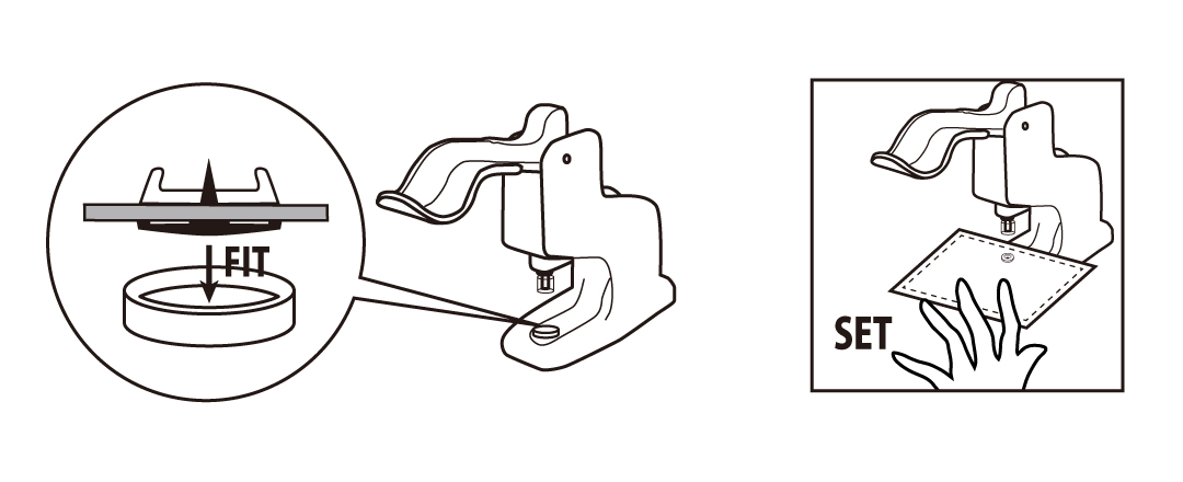 プラスチックスナップの取付け方03  「プロ仕様」の手芸用品 - CHERRY LABEL